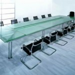Glass made Conferrence table